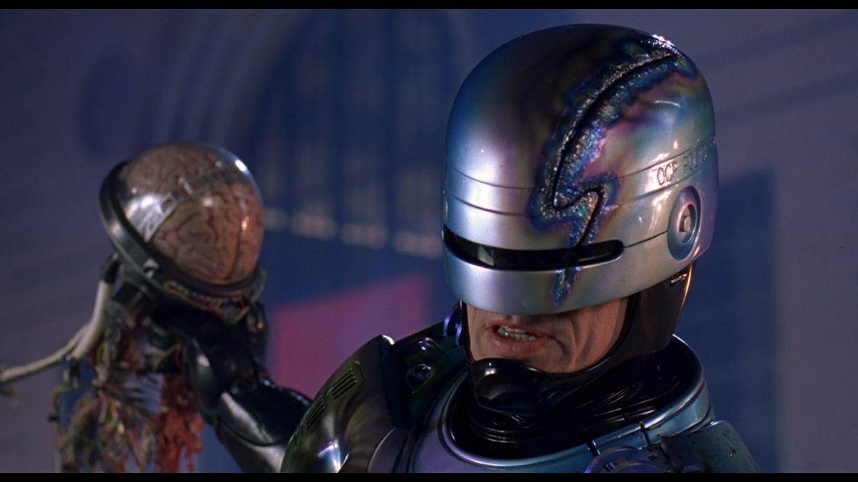 ROBOCOP sci-fi movie cyborg warrior armor  d wallpaper