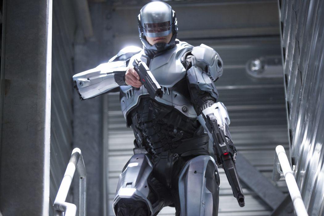 ROBOCOP sci-fi movie cyborg warrior armor   4 wallpaper