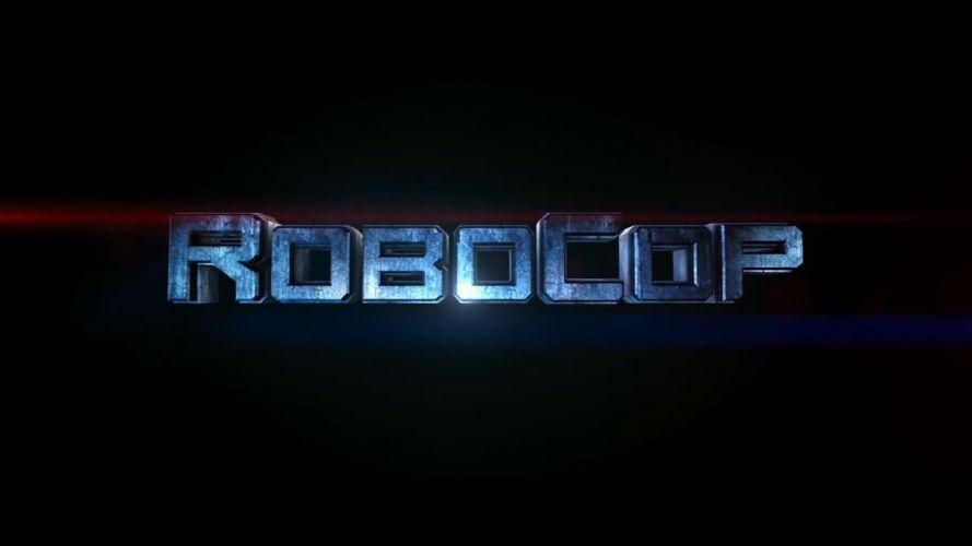 ROBOCOP sci-fi movie logo f wallpaper