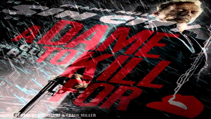 Sin City A Dame to Kill For movie f wallpaper