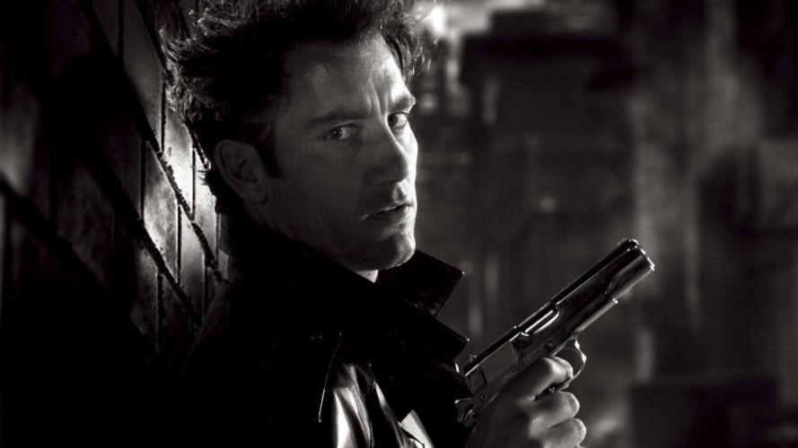 Sin City A Dame to Kill For movie dark weapon gun g wallpaper