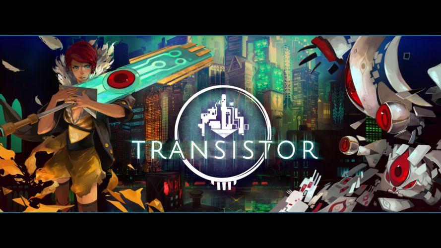 TRANSISTOR game anime wallpaper
