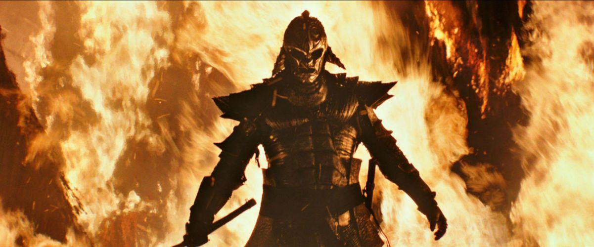 47 Ronin samurai 47-ronin warrior armor fantasy fire f wallpaper
