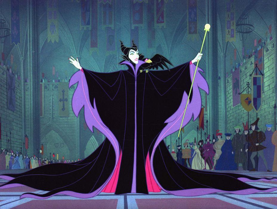 Maleficent Movie Disney Sleeping Beauty Fantasy R Wallpaper