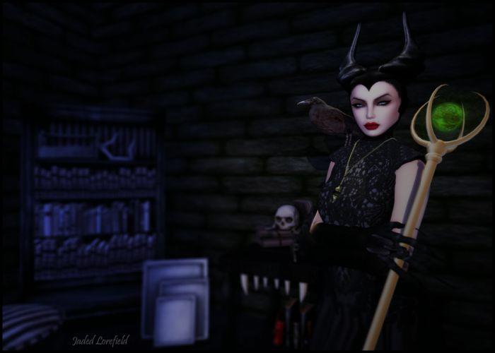 MALEFICENT movie disney sleeping beauty fantasy dark j wallpaper
