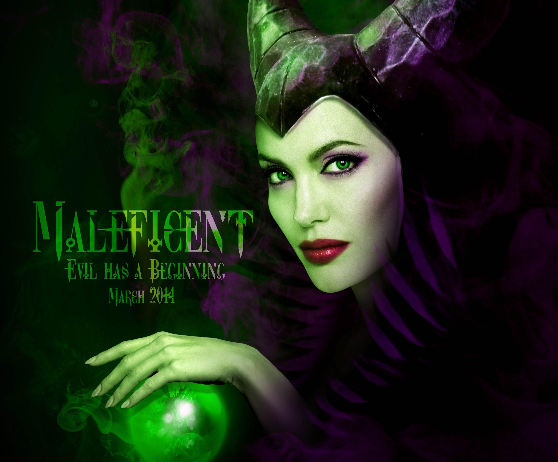 Maleficent Movie Disney Sleeping Beauty Fantasy Poster I