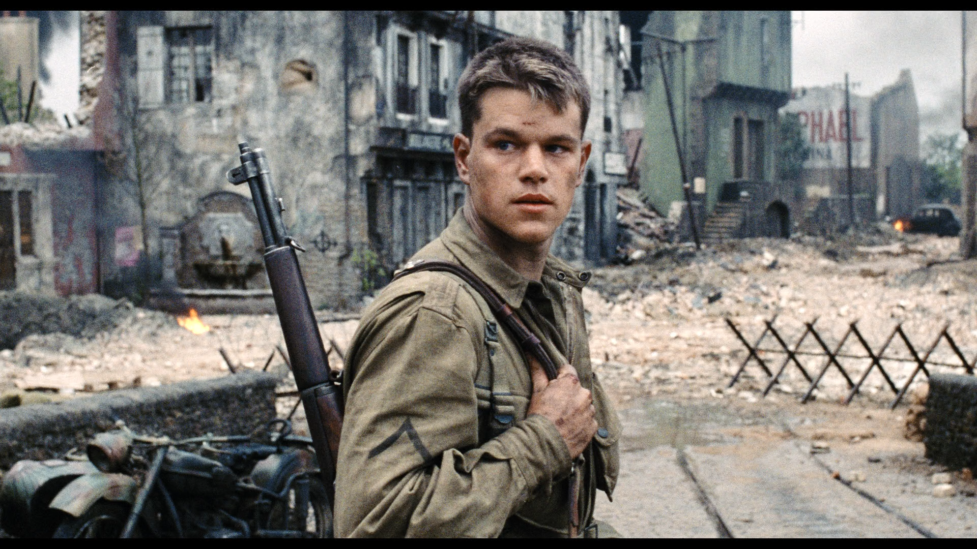 an introduction to the analysis of the film saving private ryan Context this line is spoken by captain james miller, played by tom hanks in the film saving private ryan, directed by steven spielberg (1998) it doesn't look good for wwii captain james miller.