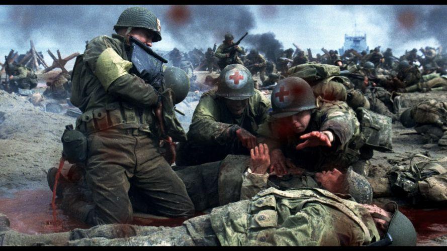SAVING PRIVATE RYAN drama action military blood battle g wallpaper