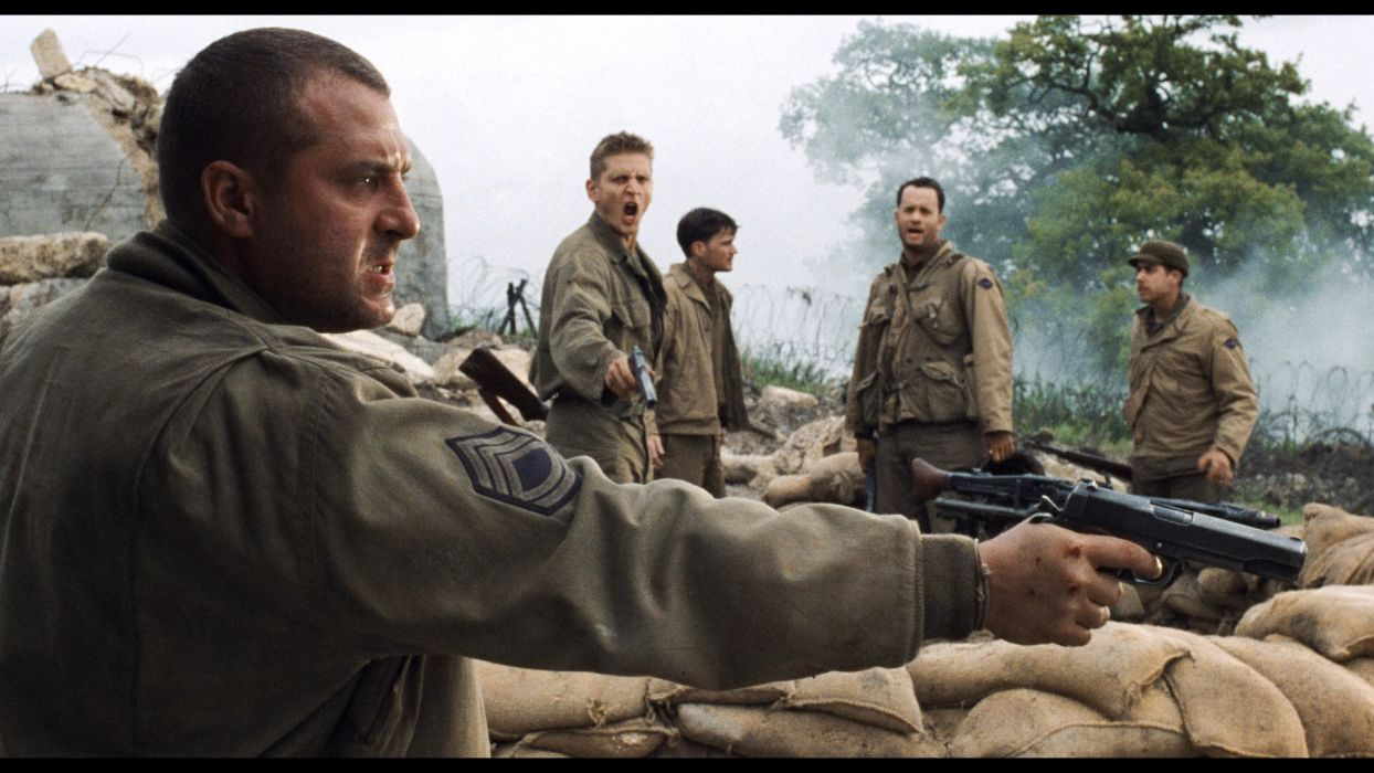 SAVING PRIVATE RYAN drama action military weapon gun   h wallpaper