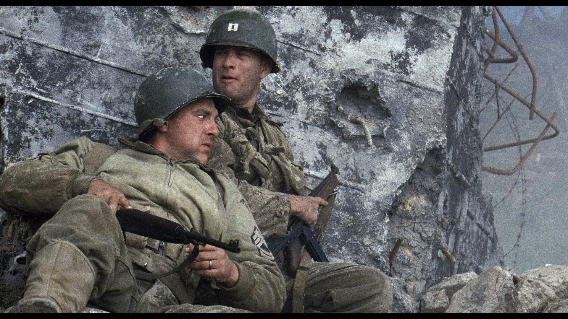 Saving Private Ryan Drama Action Tom Hanks Military U Wallpaper
