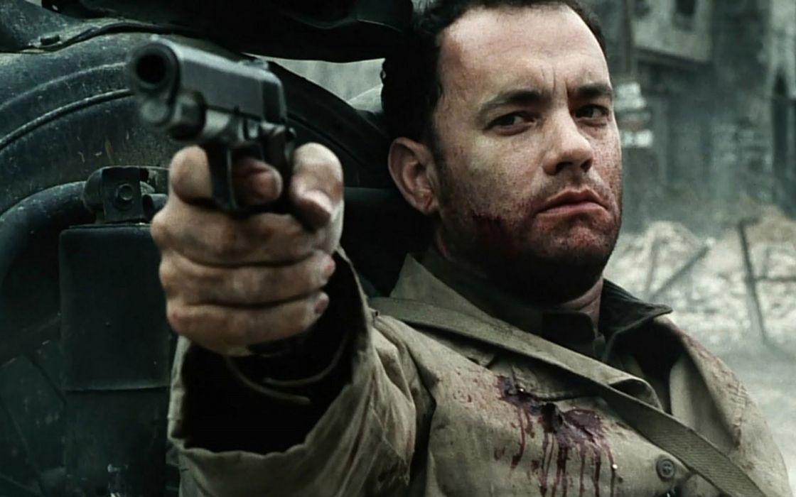 SAVING PRIVATE RYAN drama action tom hanks military weapon gun blood     d wallpaper