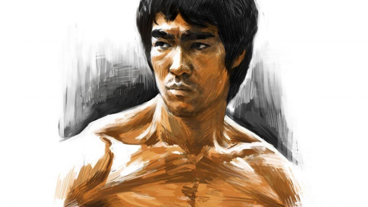 Enter The Dragon Bruce Lee Martial Arts Movie En Wallpaper