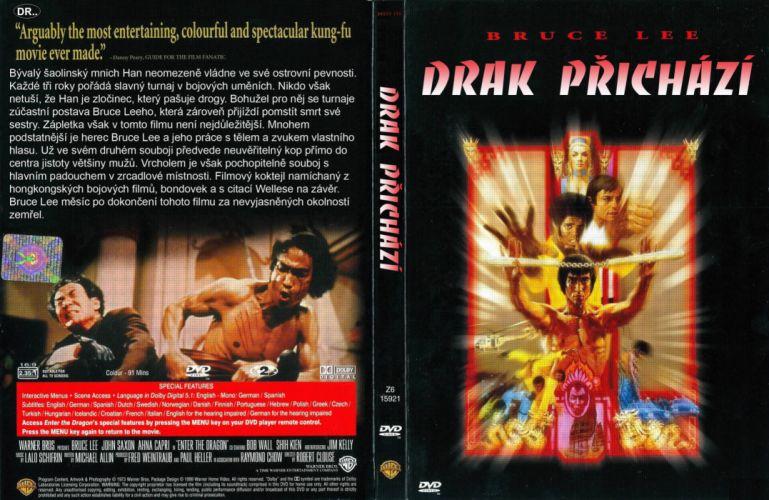 ENTER THE DRAGON bruce lee martial arts movie poster o wallpaper