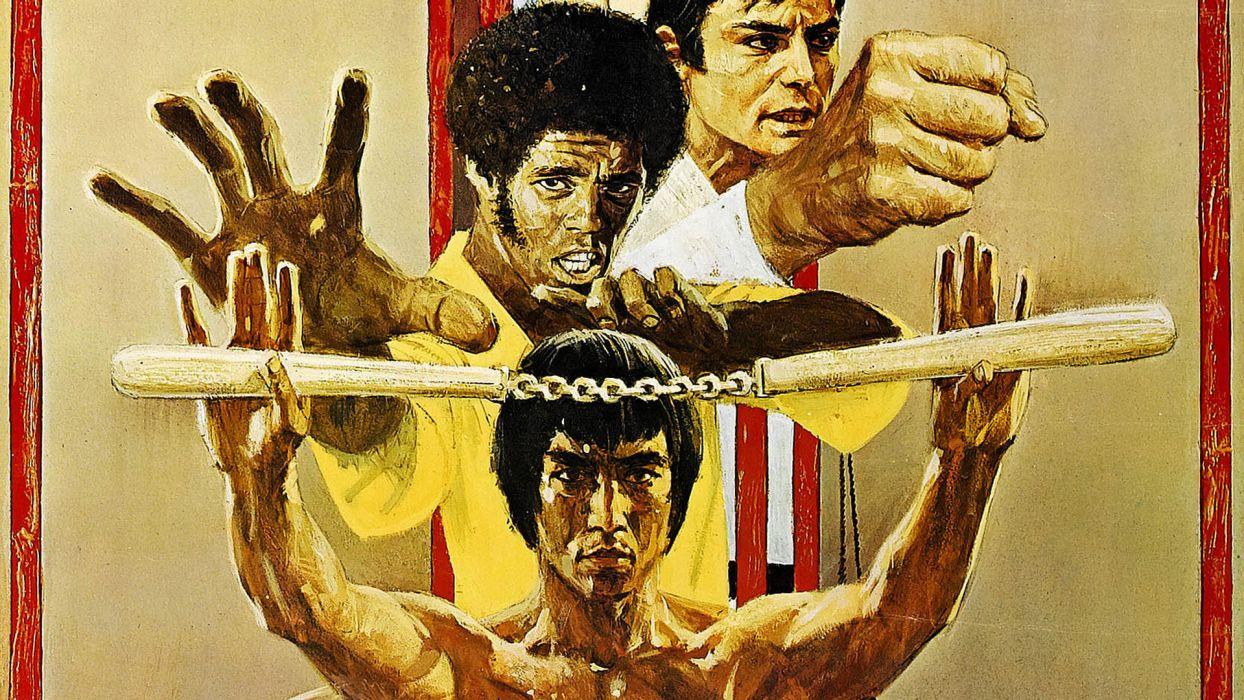 ENTER THE DRAGON bruce lee martial arts movie warrior   r wallpaper
