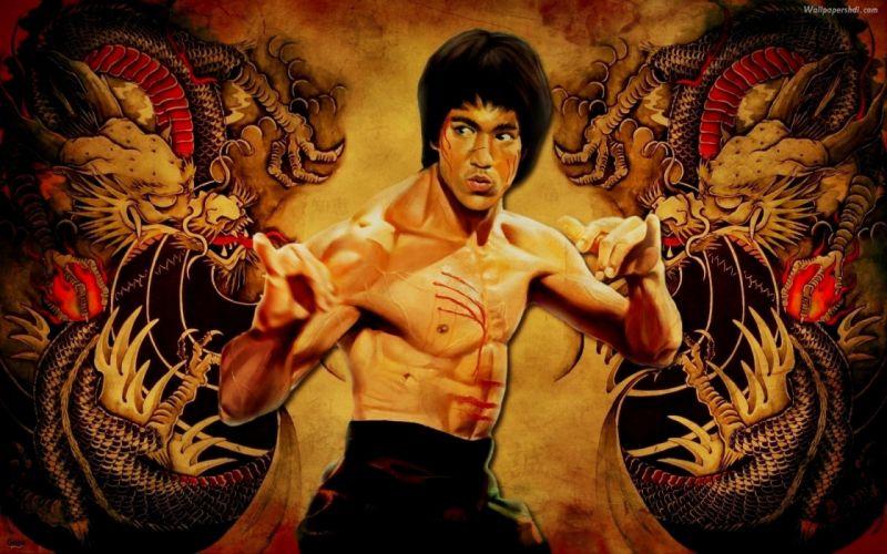 ENTER THE DRAGON bruce lee martial arts movie warrior blood g wallpaper