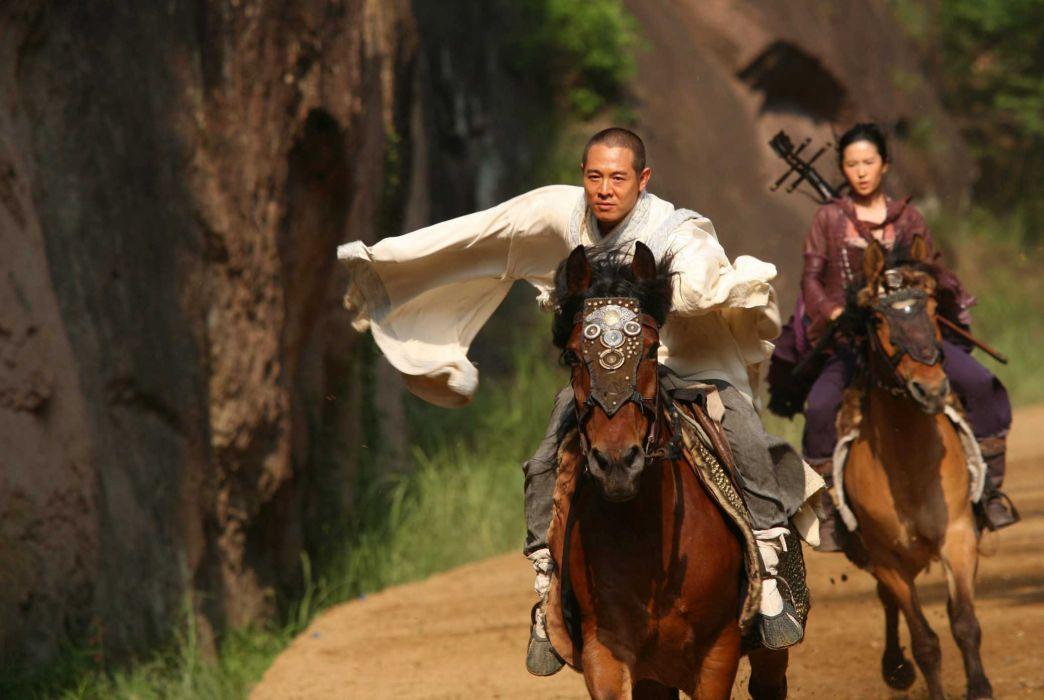 THE FORBIDDEN KINGDOM martial arts jet li jet-li    f wallpaper