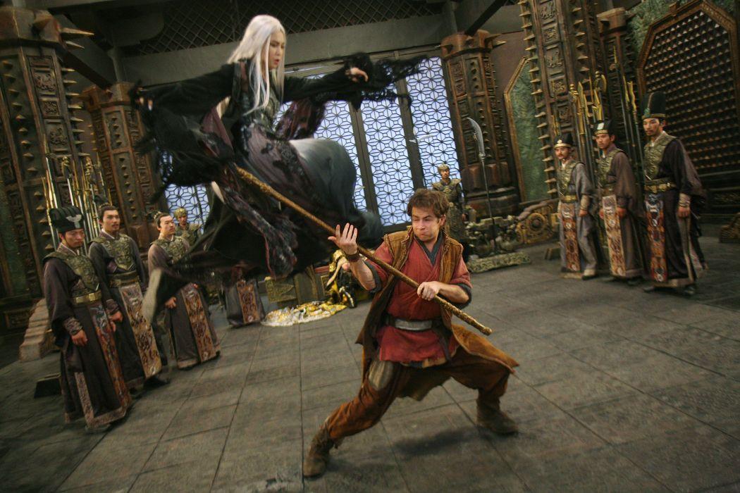 THE FORBIDDEN KINGDOM martial arts battle       f wallpaper