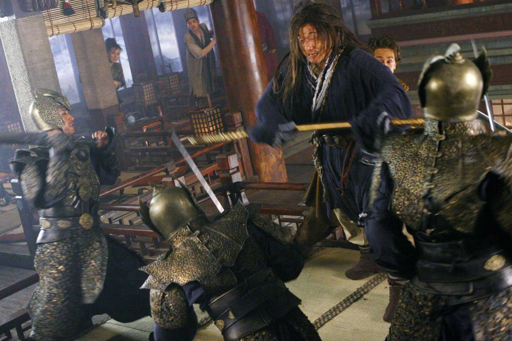 THE FORBIDDEN KINGDOM martial arts jackie chan                 f wallpaper