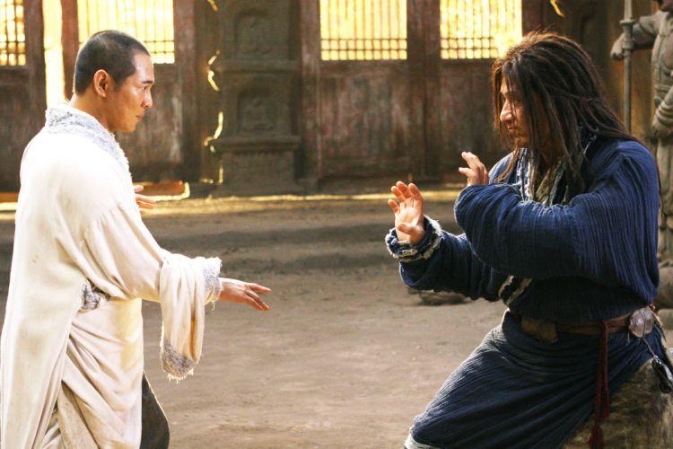 THE FORBIDDEN KINGDOM martial arts jackie chan jet li jet-li r wallpaper