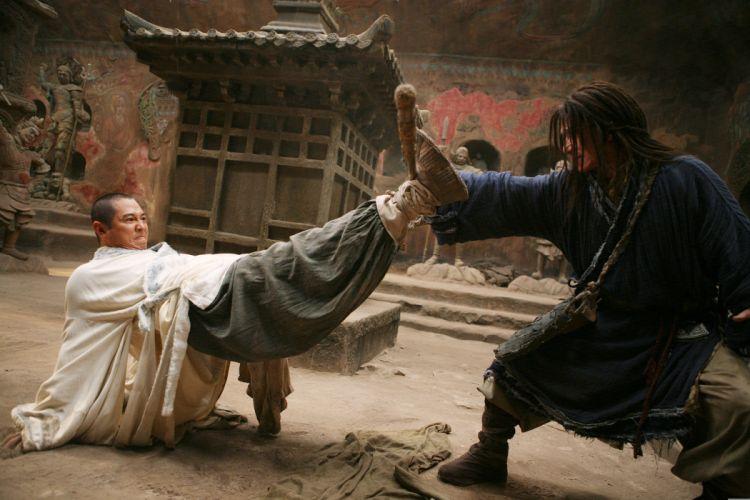 THE FORBIDDEN KINGDOM martial arts wallpaper