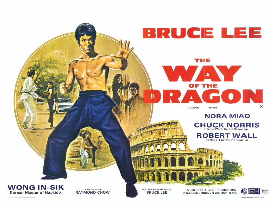 THE WAY OF THE DRAGON martial arts bruce lee poster f wallpaper