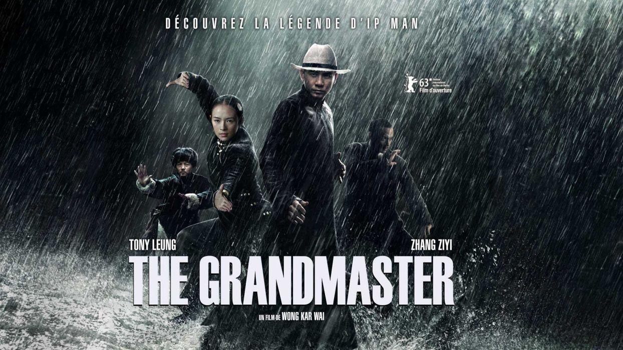 THE GRANDMASTER martial arts poster   f wallpaper