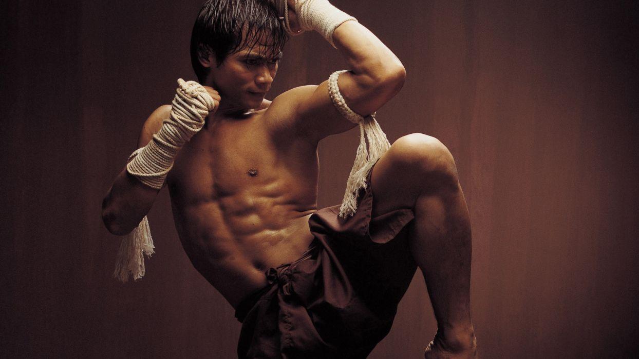 ONG-BAK martial arts ong bak tony jaa warrior          g wallpaper