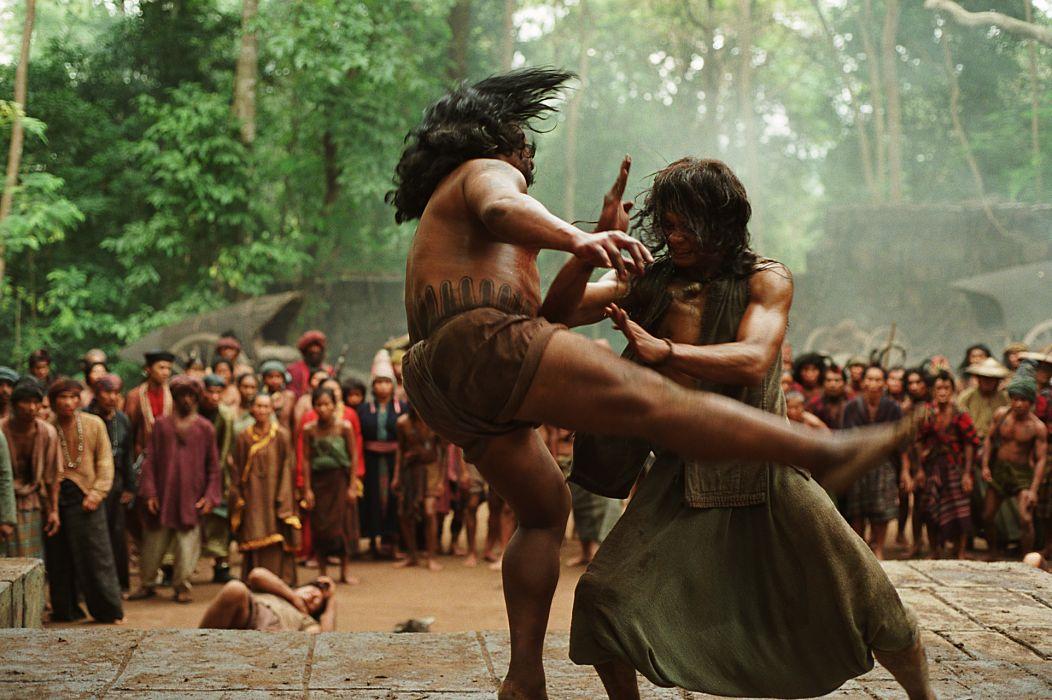ONG-BAK martial arts ong bak tony jaa warrior battle   t wallpaper