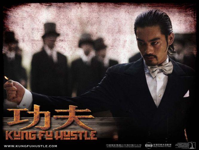 KUNG FU HUSTLE martial arts action comedy d wallpaper