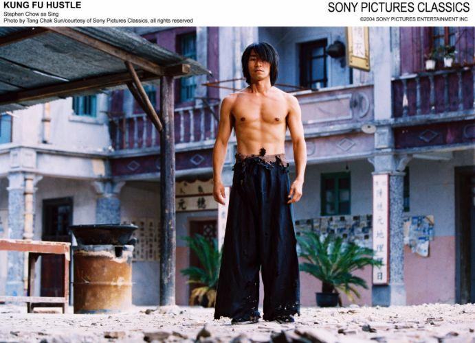 KUNG FU HUSTLE martial arts action comedy r wallpaper