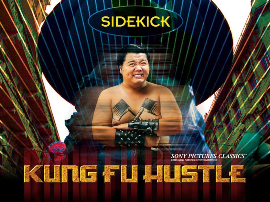 KUNG FU HUSTLE martial arts action comedy  tq wallpaper