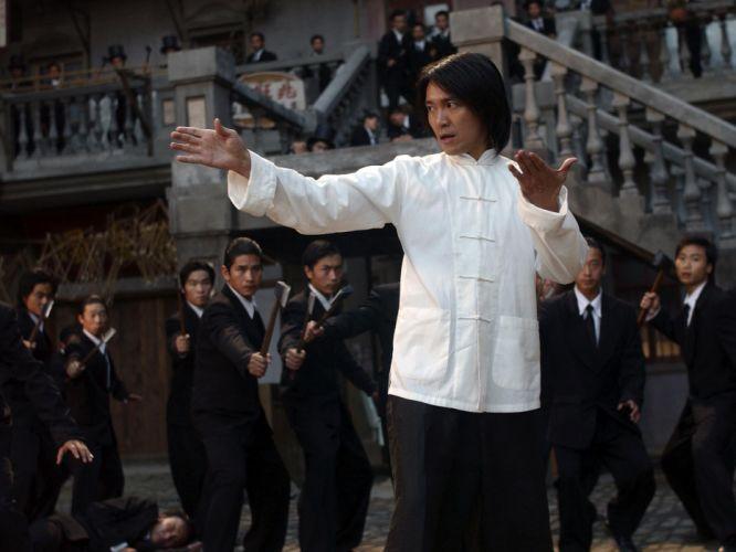 KUNG FU HUSTLE martial arts action comedy battle f wallpaper