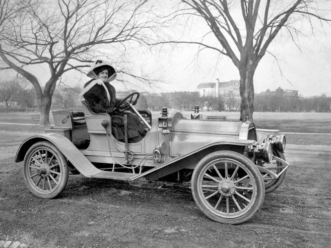 1908 Maryland Roadster 36-HP retro wallpaper