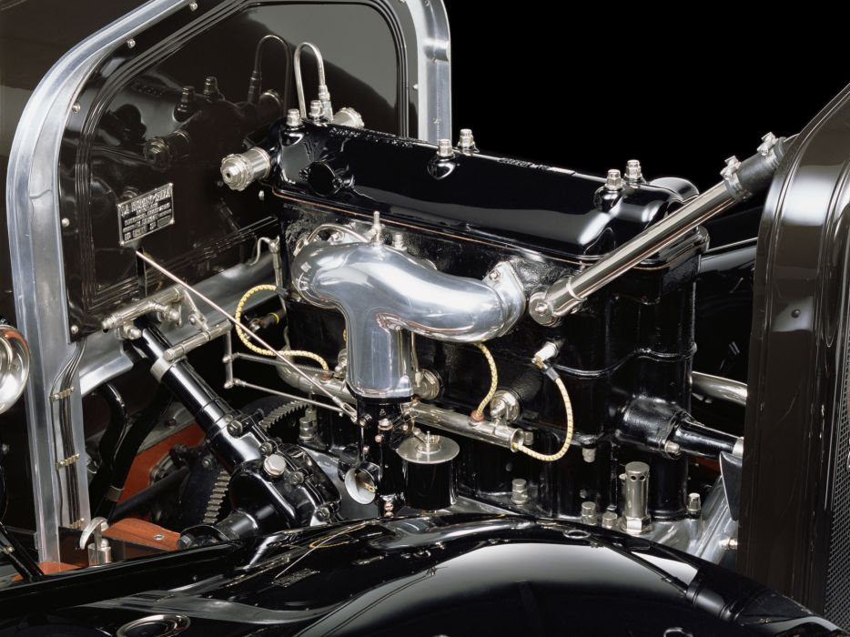 1918 Hispano Suiza Type-32 Collapsible Brougham retro luxury convertible engine   h wallpaper