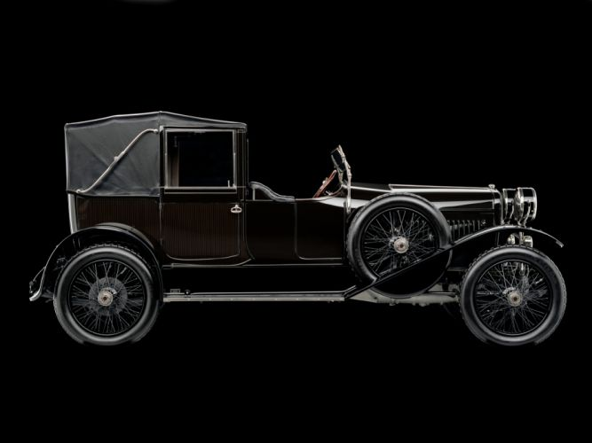 1918 Hispano Suiza Type-32 Collapsible Brougham retro luxury convertible gd wallpaper