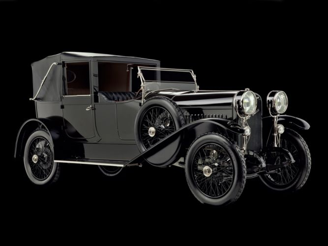 1918 Hispano Suiza Type-32 Collapsible Brougham retro luxury convertible g wallpaper