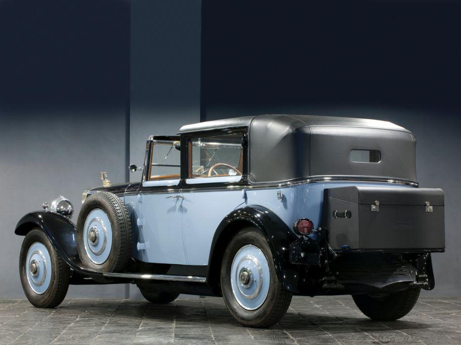 1922 Hispano Suiza H6 Coupe Chauffeur Landaulet by Chapron luxury retro h-6  g wallpaper