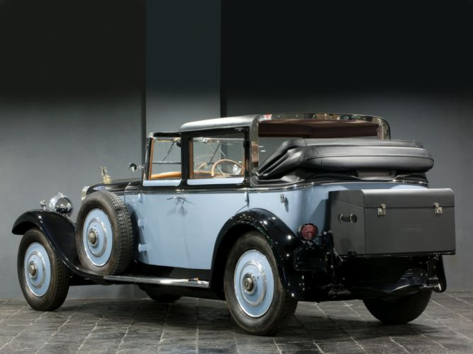 1922 Hispano Suiza H6 Coupe Chauffeur Landaulet by Chapron luxury retro h-6 g wallpaper