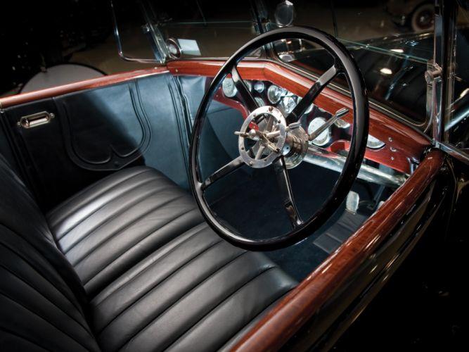 1924 Hispano Suiza H6B Coupe de Ville by Saoutchik retro luxury interior h wallpaper