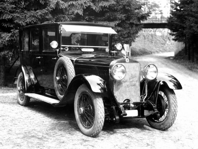 1924 Skoda Hispano Suiza H6 retro h-6 g wallpaper
