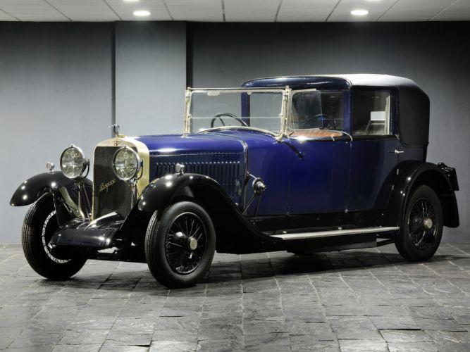 1925 Hispano Suiza H6B Coupe Chauffeur by Kellner luxury retro g wallpaper