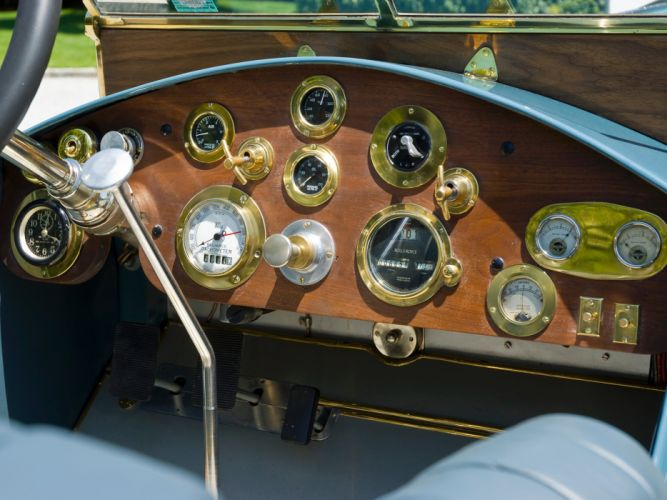 1927 Hispano Suiza Rolls Royce Phantom I Special Speedster retro racing race interior j wallpaper