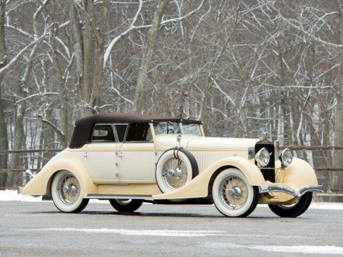 1928 Hispano Suiza H6C Convertible Sedan by Hibbard Darrin retro luxury d wallpaper
