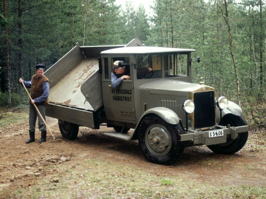 1928 Scania Vabis 3256 retro      h wallpaper