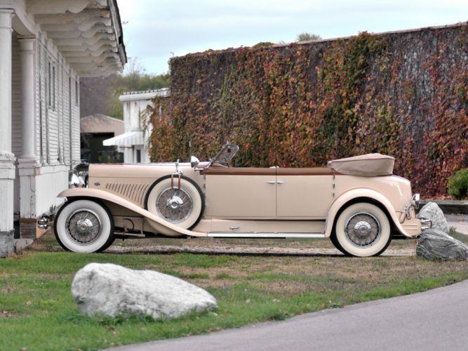 1930 Duesenberg Model- J 391-2315 Convertible Berline LWB by Murphy luxury retro g wallpaper