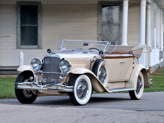 1930 Duesenberg Model- J 391-2315 Convertible Berline LWB by Murphy luxury retro rw wallpaper