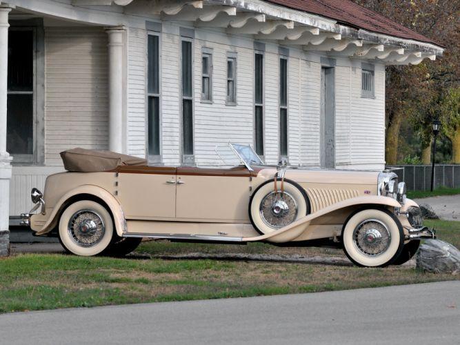 1930 Duesenberg Model- J 391-2315 Convertible Berline LWB by Murphy luxury retro wheel g wallpaper