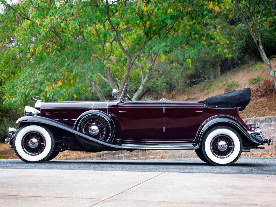 1932 Cadillac V16 452-B All Weather Phaeton by Fisher (32-16-273) retro luxury   g wallpaper