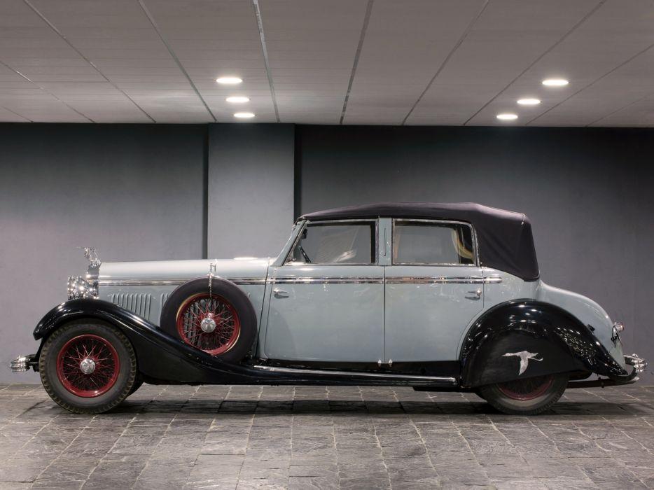 1934 Hispano Suiza HS26 Torpedo by Felber retro  d wallpaper