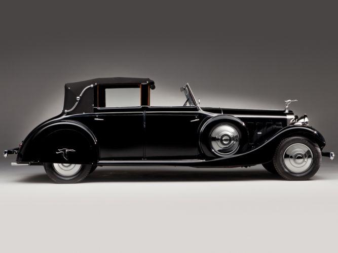 1935 Hispano Suiza J12 Sedanca de Ville luxury retro h wallpaper